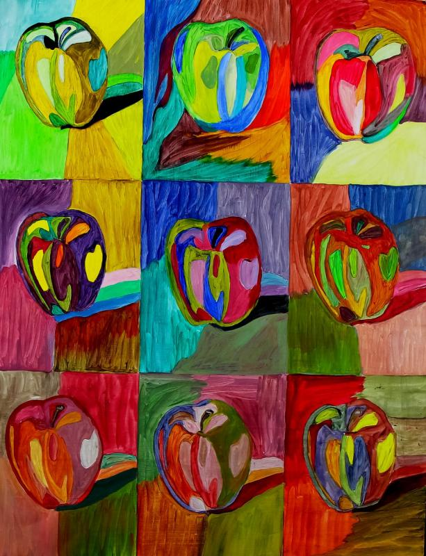 Color project - apples